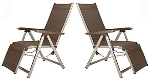 2 kettler basic plus relaxsessel in champagner mocca relaxliege relax m bel24 gartenm bel. Black Bedroom Furniture Sets. Home Design Ideas