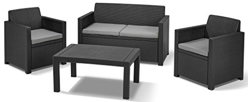 allibert 201319 lounge set merano set rattanoptik kunststoff m bel24 gartenm bel. Black Bedroom Furniture Sets. Home Design Ideas