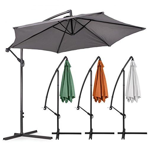 ampelschirm garten sonnenschirm mit kurbelvorrichtung 270 350 cm m bel24 gartenm bel. Black Bedroom Furniture Sets. Home Design Ideas
