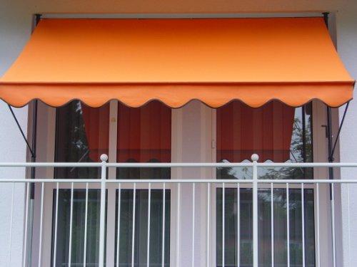 Angerer Klemmmarkise PE-Gewebe Uni, Orange