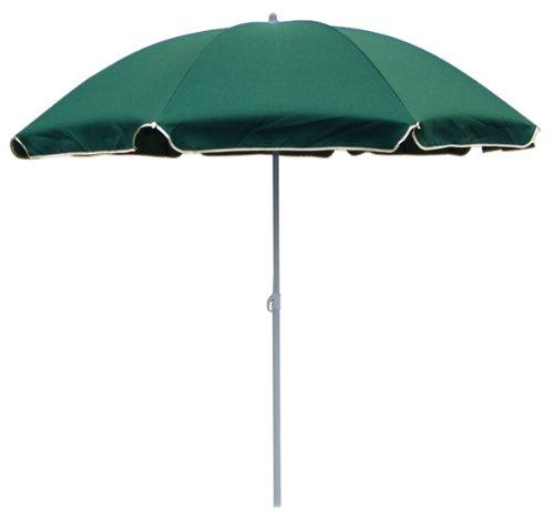 beach umbrella strandschirm sonnenschirm 180cm gr n m bel24 gartenm bel. Black Bedroom Furniture Sets. Home Design Ideas