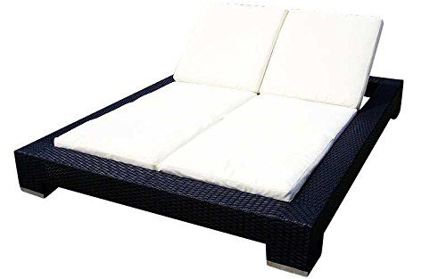Baidani Designer Lounge-Liege Butterfly