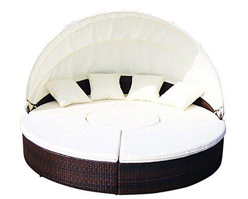 Baidani Designer Lounge-XXL-Sonneninsel Atlantis