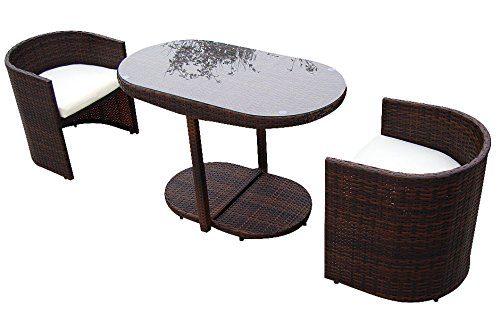 Baidani Designer Rattan Lounge Garnitur Space