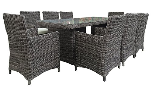 baidani gartenm bel essgruppe liberty grau m bel24. Black Bedroom Furniture Sets. Home Design Ideas
