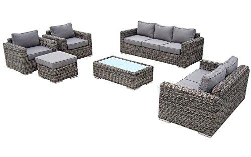 baidani rundrattan garten lounge garnitur escape m bel24 gartenm bel. Black Bedroom Furniture Sets. Home Design Ideas