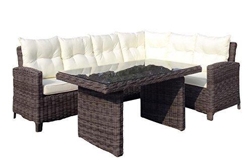 Baidani Rundrattan Garten Lounge Garnitur Magic