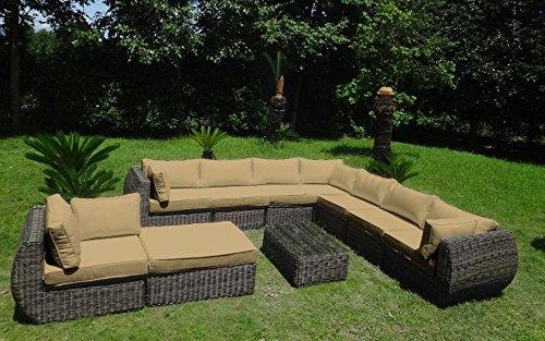 baidani rundrattan garten lounge masterpiece integrierter stauraum 0 m bel24 gartenm bel. Black Bedroom Furniture Sets. Home Design Ideas