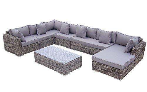 Baidani Rundrattan Garten Lounge Perfection