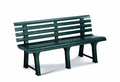 Best 18151430 Gartenbank 145 x 49 x 74 cm, grün