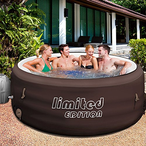 Bestway Lay-Z-Spa Limited 196x196cm mit Filterpumpe Jacuzzi Whirlpool beheizter Pool Outdoor