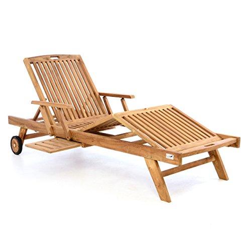 divero gl05660 mehrfach verstellbare sonnenliege. Black Bedroom Furniture Sets. Home Design Ideas