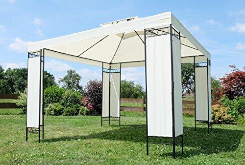 eleganter gartenpavillon pavillon 3x3 meter model 7074 a von as s 0 gartenm bel online. Black Bedroom Furniture Sets. Home Design Ideas