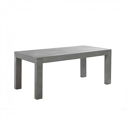 esstisch 180cm aus beton xxl tisch gartentisch betontisch. Black Bedroom Furniture Sets. Home Design Ideas