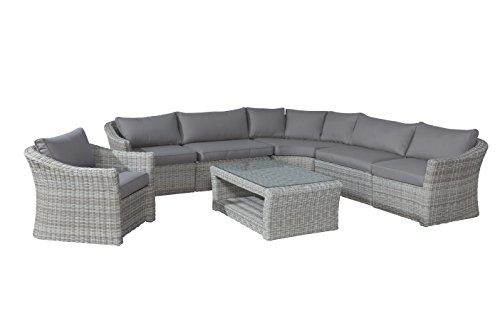 Garden Impressions Lounge Set Calliope Passion Willow, 7-teilig