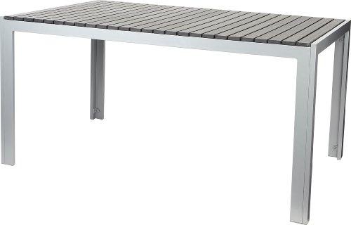 gartenfreude tisch aluminium mit non wood platte anthrazit 150 x 90 cm 0 m bel24 gartenm bel. Black Bedroom Furniture Sets. Home Design Ideas