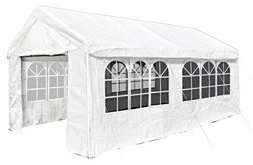 JOM 127115, Pavillon 3x 6m, Farbe: weiß