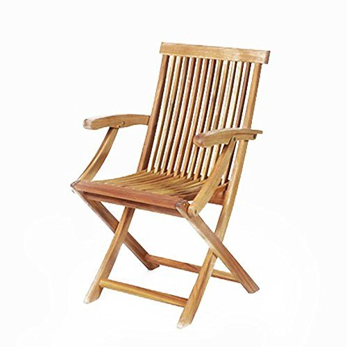 Gartenstuhl - Sessel - Hartholzstuhl - Stuhl - Akazienholz - Holzstuhl - JAVA