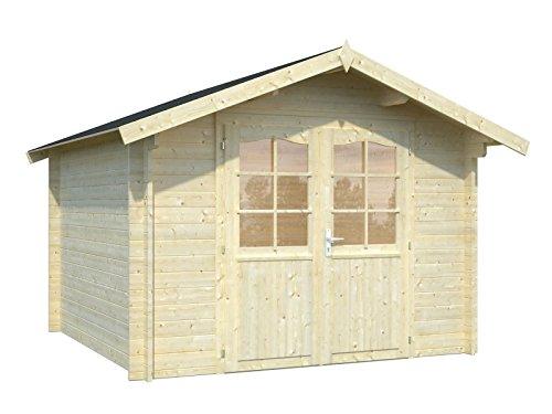 Holz-Blech Gartenhaus Bremen 0