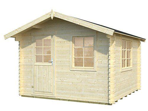 Holz-Blech Gartenhaus Mosel