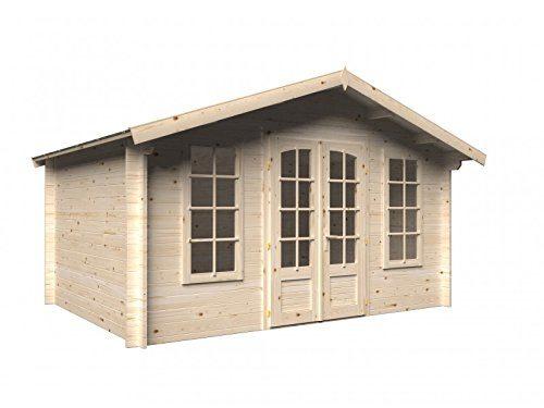 Holz-Blech Gartenhaus Weimar 3