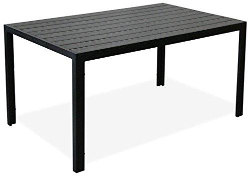 kmh sch ner schwarzer holzimitat tisch tuco 150 x 90. Black Bedroom Furniture Sets. Home Design Ideas