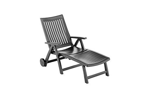 kettler roma gartenliege klappbare sonnenliege f r garten terrasse und balkon r ckenlehne. Black Bedroom Furniture Sets. Home Design Ideas