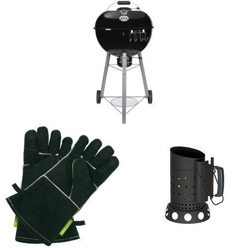 Outdoorchef EASY 570 C schwarz BBQ Kohlegrill Kugelgrill 18.125.41