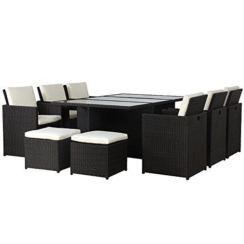 poly rattan lounge gartenset garnitur polyrattan alu. Black Bedroom Furniture Sets. Home Design Ideas
