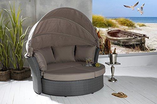 poly rattan sonneninsel terrassen strandkorb garten lounge. Black Bedroom Furniture Sets. Home Design Ideas