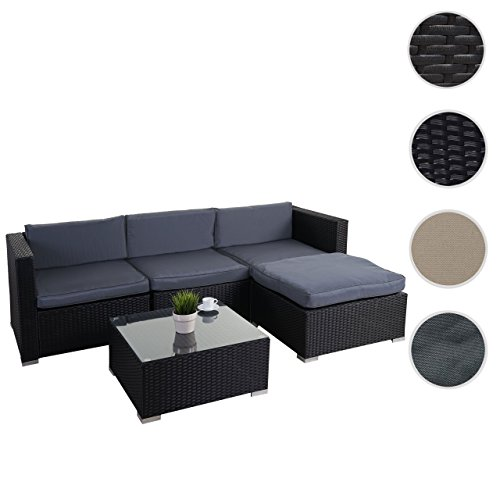 poly rattan garnitur brindisi gartengarnitur sitzgruppe lounge set m bel24 gartenm bel. Black Bedroom Furniture Sets. Home Design Ideas