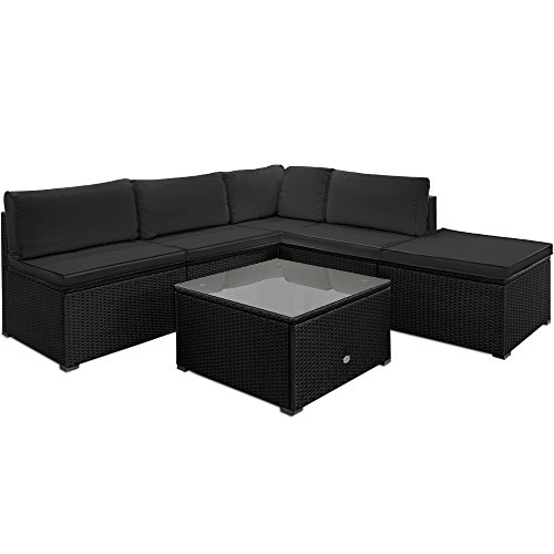 poly rattan lounge set sitzgruppe sitzgarnitur gartenmbel gartenset gartenliege 0 gartenm bel. Black Bedroom Furniture Sets. Home Design Ideas