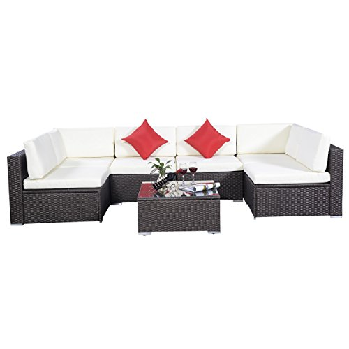 rattan set gartenm bel lounge polyrattan sitzgruppe rattanm bel garnitur garten 5er set. Black Bedroom Furniture Sets. Home Design Ideas