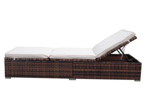 rattanliege sonnenliege gartenm bel online. Black Bedroom Furniture Sets. Home Design Ideas