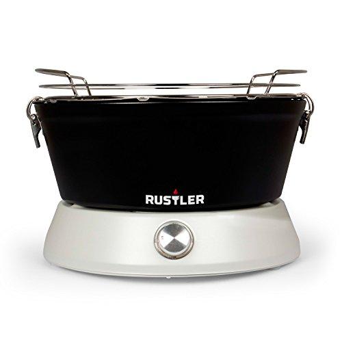 Rustler Cool Touch Holzkohlegrill mit Belüftung