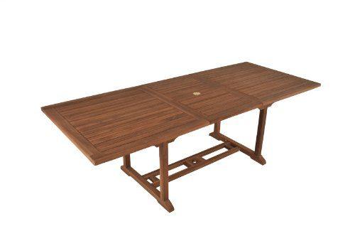 Holz Gartentisch