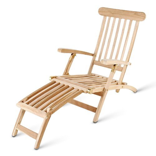 sam teak holz deckchair liegestuhl sonnenliege. Black Bedroom Furniture Sets. Home Design Ideas