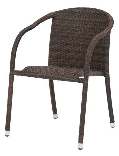 siena garden stapelsessel alto geflecht zweifarbiger mocca 14 kunststoff alu fukappen 0. Black Bedroom Furniture Sets. Home Design Ideas