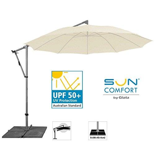 sonnenschirm freiarmschirm suncomfort pendolino rund 300cm ecru m bel24 gartenm bel. Black Bedroom Furniture Sets. Home Design Ideas