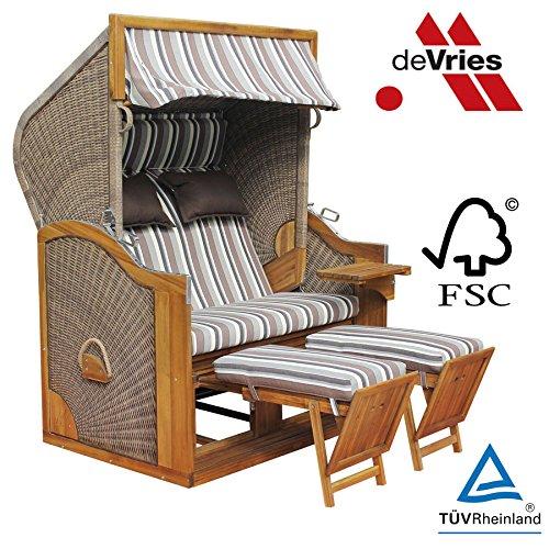 strandkorb devries pure greenline 170 xl dessin w hlbar. Black Bedroom Furniture Sets. Home Design Ideas