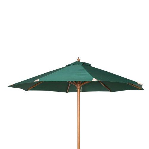 siena garden 119973 sonnenschirm holzgestell teakoptik. Black Bedroom Furniture Sets. Home Design Ideas
