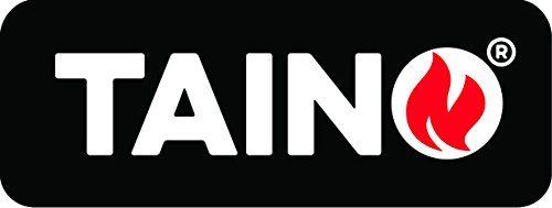 TAINO® Gasgrill wahlweise im Set mit Zubehör BBQ Grillwagen 6 Edelstahl-Brenner 1 Seitenkocher Gas-Grill TÜV Farbe Schwarz oder Silber / Anthrazit (6+1)