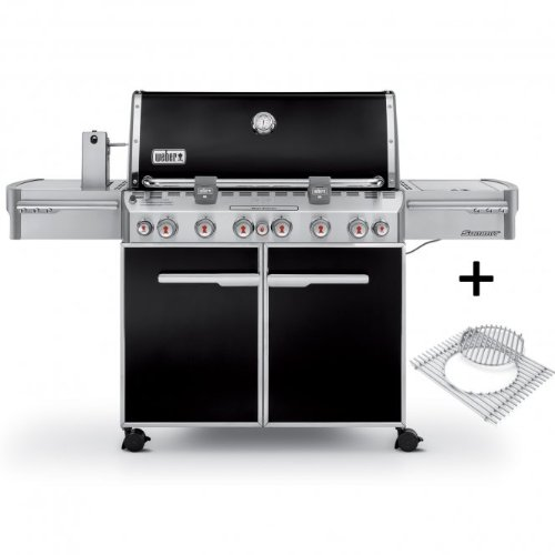 WEBER Gasgrill, Summit E-670, Black