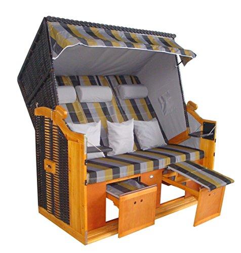 wohnwerk strandkorb nordsee de luxe jetzt neu mit zweiten wechselbezug 2 kissen m bel24. Black Bedroom Furniture Sets. Home Design Ideas