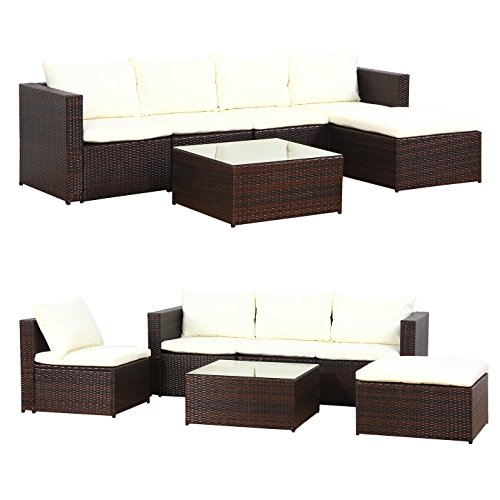 xxl bali poly rattan gartenm bel sitzgruppe essgruppe gartenset m bel24 gartenm bel. Black Bedroom Furniture Sets. Home Design Ideas