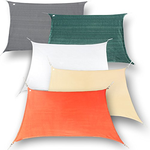 hanse marken sonnensegel sonnenschutz segel rechteck 3x4 m 0 m bel24 gartenm bel. Black Bedroom Furniture Sets. Home Design Ideas