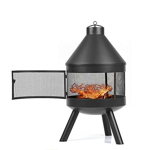 ikayaa feuerstelle gartenfeuer gartenkamin gartenofen. Black Bedroom Furniture Sets. Home Design Ideas