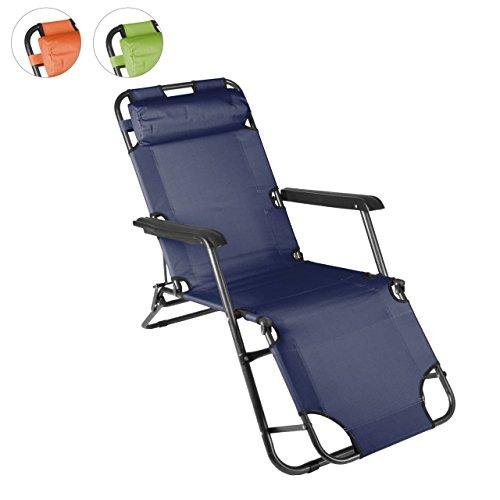 Klappbare sonnenliege relaxliege liegestuhl klappliege for Klappbare sonnenliege