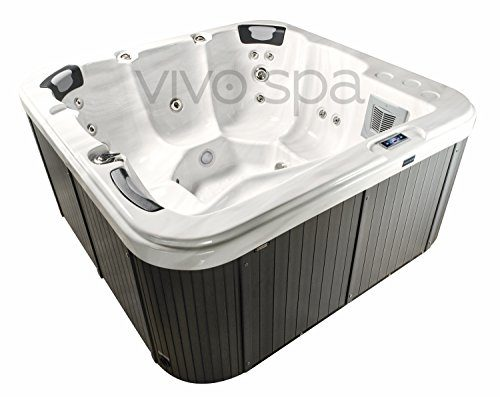 vivo spa WELUXIA 514 Außen Whirlpool Outdoor Whirlpools Garten Jacuzzi Outdoor Gartenwhirlpool Außenwhirlpool Outdoorwhirlpool