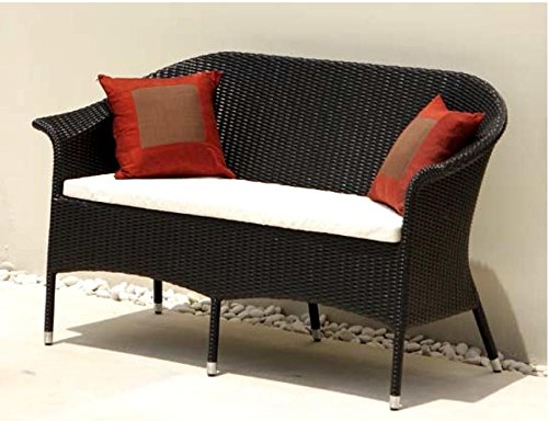destiny gartenbank canberra 2er bank polyrattan geflechtbank rattanbank poly ohne bankauflage. Black Bedroom Furniture Sets. Home Design Ideas
